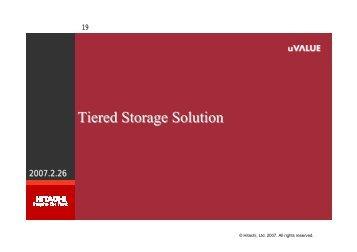 階層ストレージリソース管理: Tiered Storage Solutionと ... - グリッド協議会