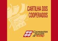 cartilha maio 2006 - Cooperativa Paulista de Teatro