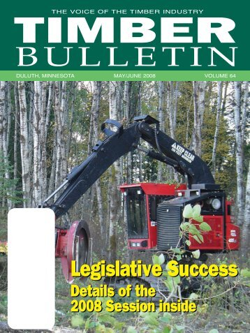 Timber Bulletin May/Jun - Minnesota Forest Industries