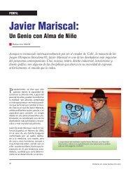 Perfil Javier Mariscal - Revista El Mueble y La Madera