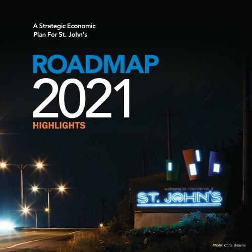 Roadmap 2021 Highlights - City of St. John's