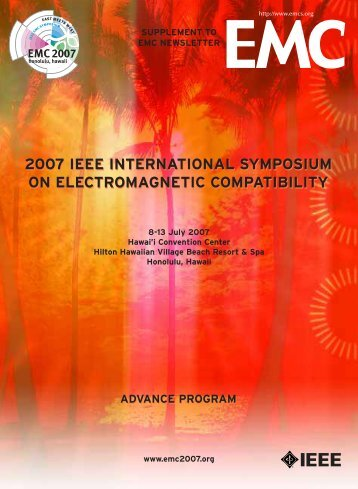 2007 ieee international symposium on electromagnetic compatibility