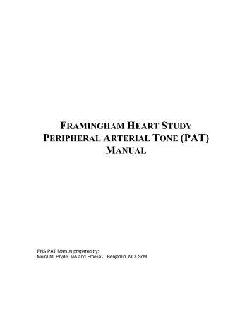 Framingham Heart Study | research project, Framingham ...