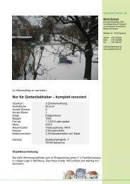 Nur für Gartenliebhaber – komplett renoviert - weststadtmakler.de