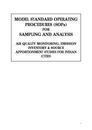 (SOPs) SAMPLING AND ANALYSIS - Central Pollution Control Board