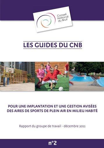 Le Conseil National du Bruit (CNB) - Centre d'information et de ...