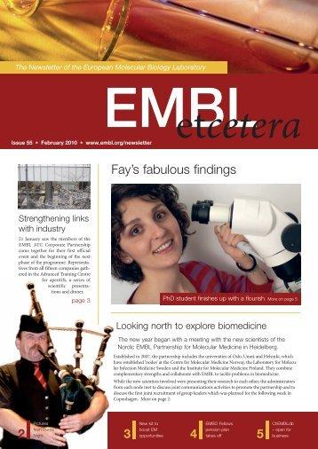 Fay's fabulous findings - EMBL Grenoble