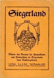 €5tegert(tnb - Wittgensteiner Heimatverein e.V.