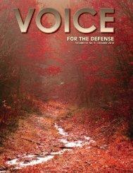 San Antonio - Voice For The Defense Online