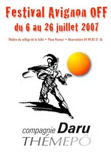 Dossier Presse Avignon - Theatre-contemporain.net