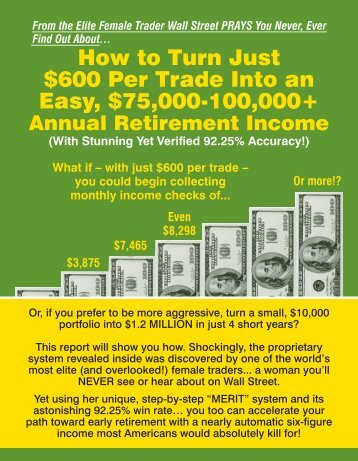 What if – with just $600 per trade