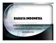 BAHASA INDONESIA.pdf - Universitas Narotama