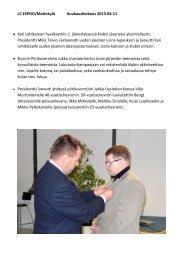 LC ESPOO/Matinkylä Kuukausikokous 2013-04-11 • Kari ...