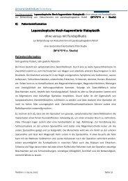 Laparoskopisch Laparoskopische Mesh-Augmentierte Hiatoplastik ...