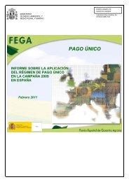 PAGO ÚNICO - Fondo Español de Garantía Agraria