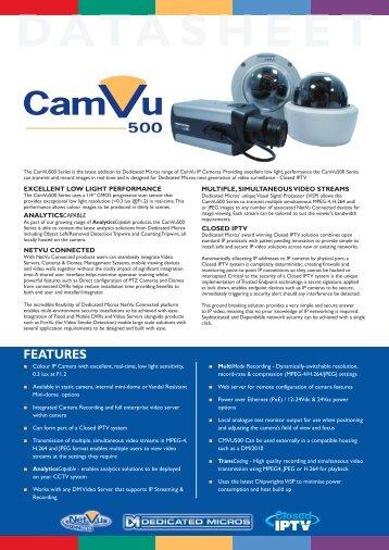 FEATURES - Surveillance Technologies