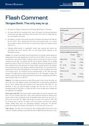 13/10 Flash Comment - Norges Bank: The only way is up - Danske ...