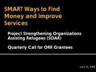 Setting SMART Objectives - ethniccommunities.org