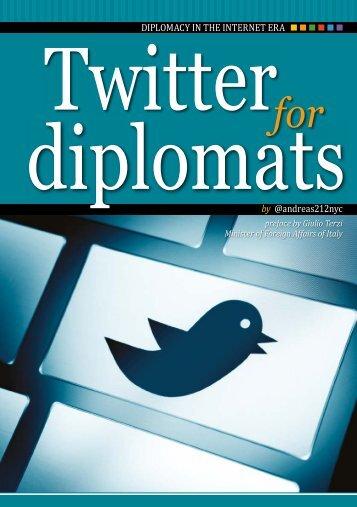 Twitter for diplomats
