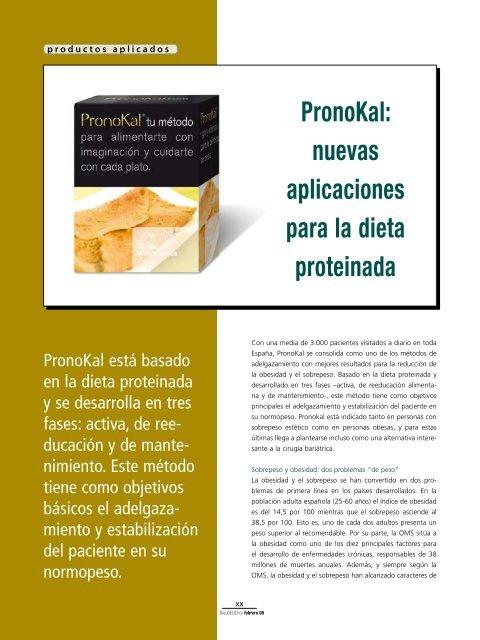 Dieta pronokal fase 2
