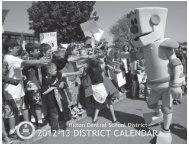 2012-13 District Calendar of School Events - Hilton Central School ...