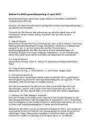 Referat af generalforsamling 2013