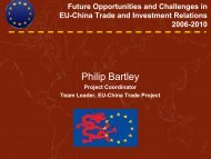 Future Opportunities and Challenges in EU-China Trade and ...