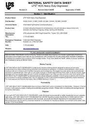 LPS HDX Heavy Duty Degreaser 69698 - Yellow Jacket