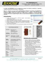 DLC-MUXDIAG-II-C - Exxotest