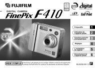 Mode d'emploi FinePix F410.pdf - Fujifilm France