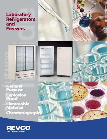 Laboratory Refrigerators and Freezers