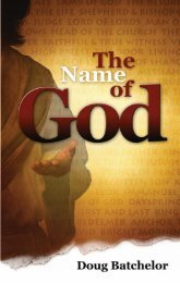 The Name of God - A New You Ministry