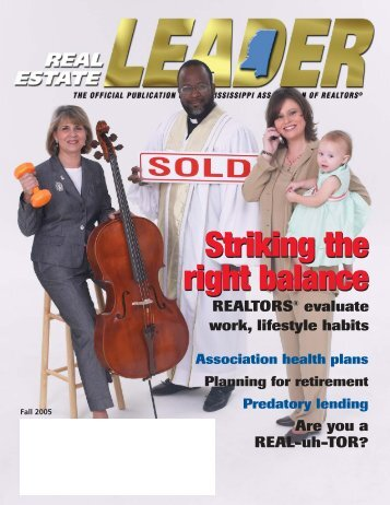 Fall - Mississippi Association of REALTORS