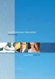 Annual Report 2004-2005 - Local Government Association of ...