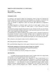 ORIENTACIN ETIOLGICA LA URTICARIA - Asociación Vasca de ...