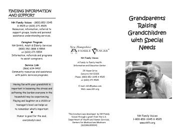 Grandparents brochure - National Center for Family / Professional ...