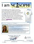 Winter 2013 Newsletter - sophe - Society for Public Health Education - Page 7