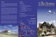 Hotel-Flyer runterladen - Villa Neptun