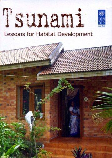 Lessons for Habitat Development