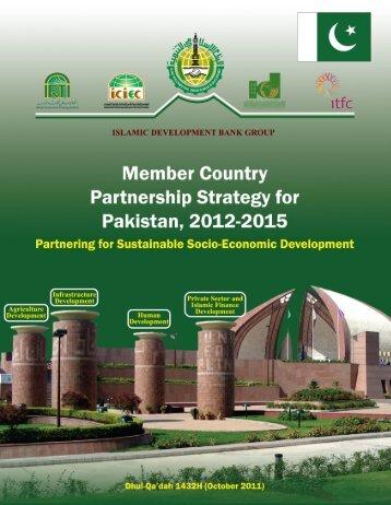 Pakistan, 2012-2015G (1433-1436H) - Islamic Development Bank