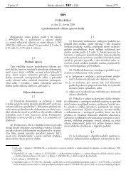 Vyhláška č. 191/2009 Sb. o podrobnostech výkonu spisové služby