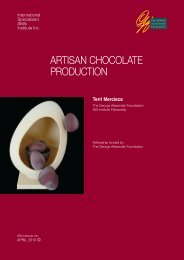 artisan chocolate production - International Specialised Skills Institute