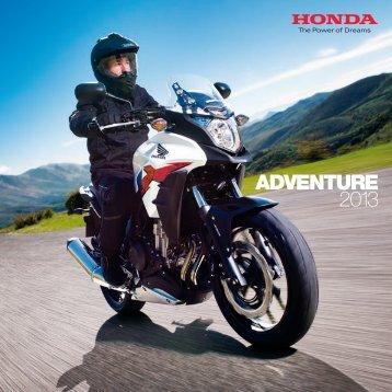 ADVENTURE 2013 - Honda