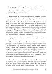 Program hodowlany brown swiss - Polska Federacja Hodowców ...