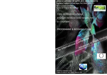 An International Conference - Association of Applied Biologists
