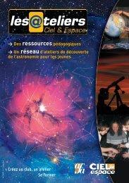 plaquette atelier - Les @teliers ciel & espace - AFA