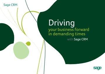 SageCRM Brochure - SageSoftware.co.in