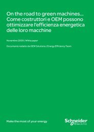 White paper OEM ed Efficienza Energetica (.pdf ... - Schneider Electric