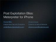 slides - Trail of Bits