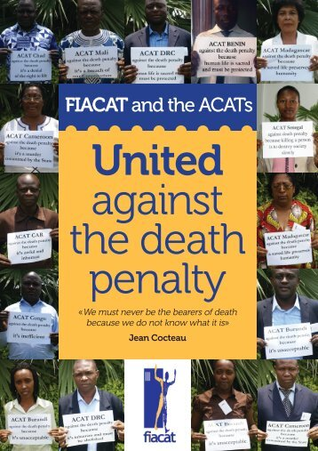 United against the death penalty - fiacat